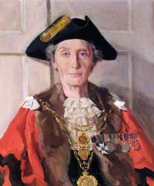 Gwladys Hanbury-Williams, Mayor of New Windsor (1954)