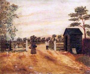 Toll Gate, Bath Road, near Maidenhead Thicket, Berkshire