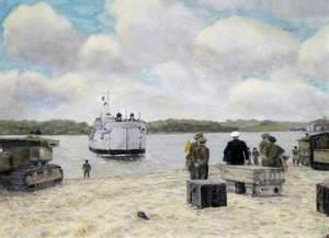 A Landing at Crow Point, North Devon, 1951