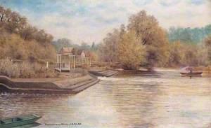 Pangbourne Weir, Berkshire