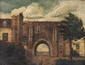 Reading Abbey Gateway, Berkshire, Looking North