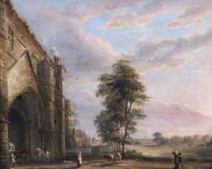 Abbey Gate, Reading, Berkshire