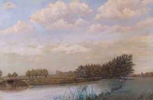 Kennet from Weir Mill, Reading, Berkshire
