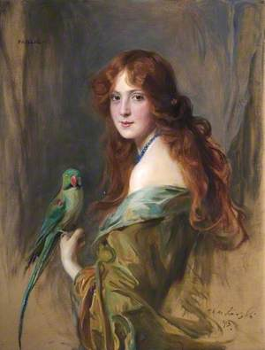 Phyllis (Lady with a Parrot)