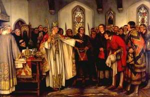 The Election of Thomas Clerke to be Mayor of Reading by Abbot Thorne I, 29 September 1460