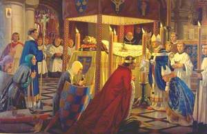 The Burial of Henry I at Reading Abbey, 4 January 1136