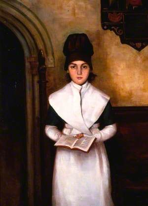 A Pupil of Green Girl's School, Reading