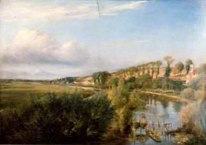 View of the Thames from Caversham Bridge, Berkshire