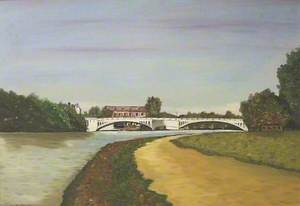 A View of Caversham Bridge from the Promenade, Berkshire