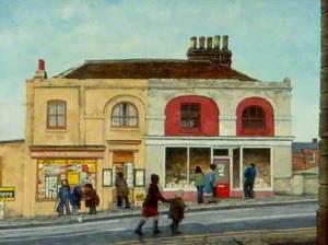 Shops in London Street, Reading, Berkshire