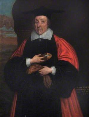 Dr John D. Wall (1588–1666), DD, Canon of Christ Church (1664)