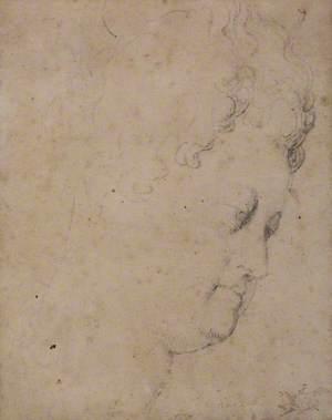 Study for the Head of Marie de'Medici