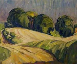 Landscape near Lambourn