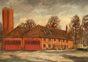 Ambulance and Fire Station on the Wharf, Newbury, Berkshire