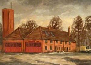 Ambulance and Fire Station on the Wharf, Newbury, Berkshire