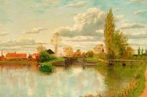 Greenham Lock, Newbury, Berkshire