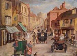 View of Peascod Street, Windsor