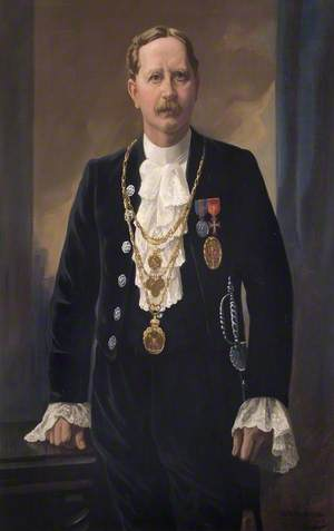 Alderman Sir Frederick Dyson, JP, Mayor of New Windsor (1909, 1911, 1912, & 1922–1923)