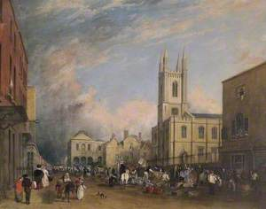 View of the High Street, Windsor