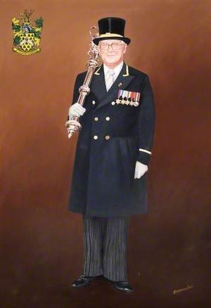 Albert Dunham (1921–2007), Wokingham Town Mace-Bearer and Mayor's Attendant (1983–2003)