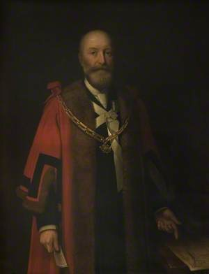 George Wells (1841–1912), JP, Mayor of Bedford (1893–1894 & 1896–1898)