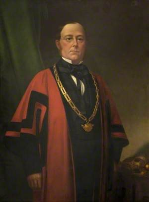 John Richard Bull (1827–1880), Mayor of Bedford (1870–1871)