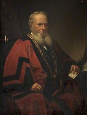 James Thomas Hobson (1817–1887), Mayor of Bedford (1876 & 1880)