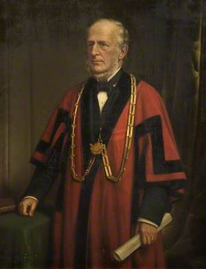 Alderman James Coombs (1813–1905), Mayor of Bedford