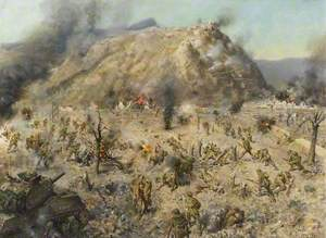 The Battle for Monte Cassino, Italy, 1944
