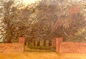 Gateway to Anstey Hall, Trumpington, Cambridge