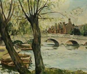 Bedford Bridge and River