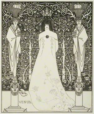 Frontispiece for 'Venus and Tannhauser'
