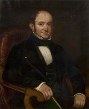 James Dear of Huntingdon (1800–1877), Grocer, Deacon of the Union Chapel and Trinity Church (1829–1877)