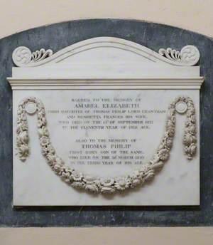 Amabel Elizabeth (d.1827) and Thomas Phillip, (d.1810)