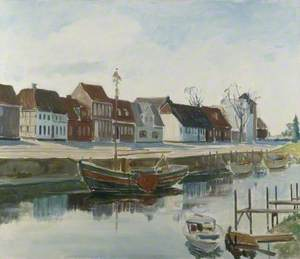 Skibbroen, Ribe, Denmark
