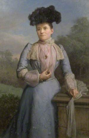 Portrait of an Edwardian Lady