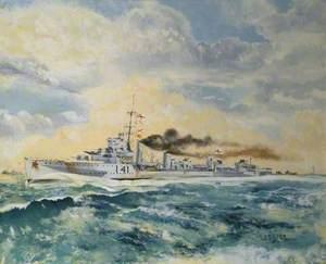 HMS 'Walpole'