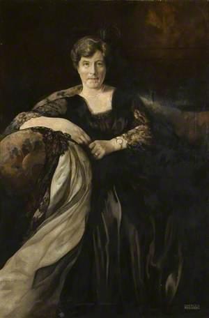 Portrait of an Edwardian Lady