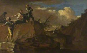 Landscape with Bandits