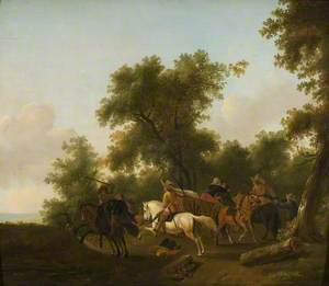 Bandits with a White Horse