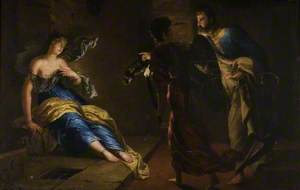 St Agatha Healed by St Peter