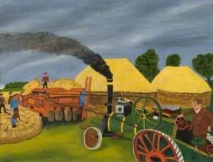 Steam Threshing
