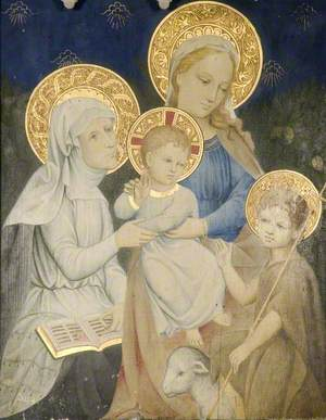 Mary and Elizabeth with the Infant Jesus and St John*