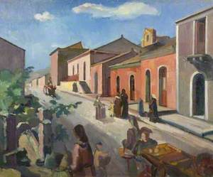 Street Scene, Sicily