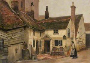 Yard of the 'Horse and Jockey Inn', Manchester Street, Luton, Bedfordshire