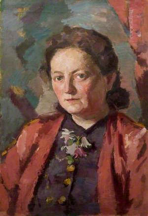 Portrait of the Wife of the Artist