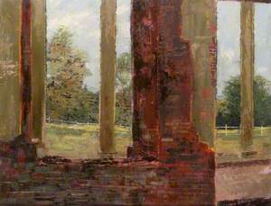 'The Chamber Called Peace', View from Houghton House towards the Chilterns, Bedfordshire
