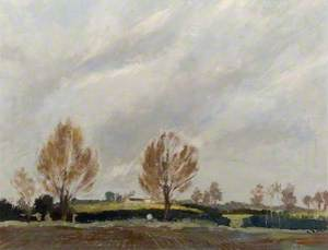 'The Hill Called Lucre', Pulloxhill from Hillfoot, Bedfordshire