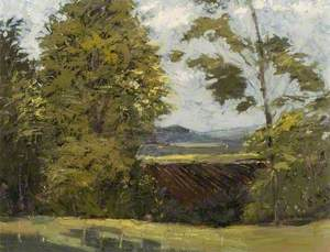'The Delectable Mountains', View from Houghton House towards Sharpenhoe Clappers, Bedfordshire
