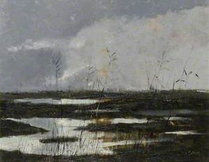 'The Slough of Despond', Cardington Brook, Elstow, Bedfordshire